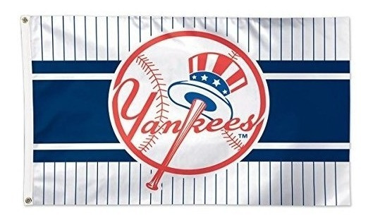 Bandera De Lujo Mlb New York Yankees 02506115, 3 X 5