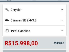 Chrysler Grand Caravan-venda Ou Troca/por Pagar Meu Estudo