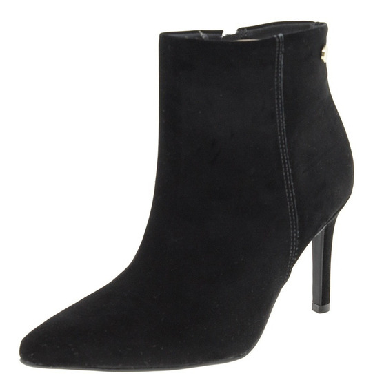 Bota Feminina Ankle Boot Preta Vizzano - 3049219