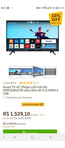 Smart Tv 43 Plgd Philips