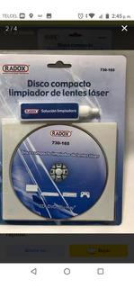 Disco Compacto Limpiador De Lentes Laser Maca Radex.