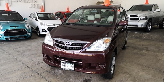 Toyota Avanza Automática Con Piel