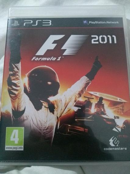 Formula 1 2011 - Ps3 Original Em Mídia Física