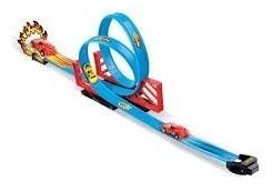 Pista Looping 360º Infantil Tipo Hotwheels Com Carrinho
