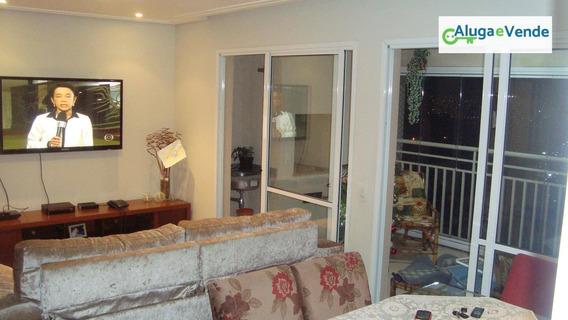 Apartamento Com 3 Dormitórios, 1 Suíte, Aceita Permuta, No Condomínio Parque Clube, 91m², Por R$ 570.000 - Vila Augusta - Guarulhos/sp - Ap0132