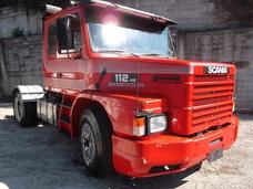 Scania 112 1989 4x2 Troco Por Carro De Passeio