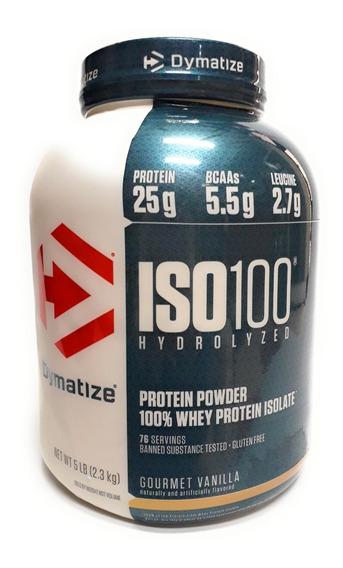 Proteina Iso 100 Dymatize Varios Sabores 5 Lbs