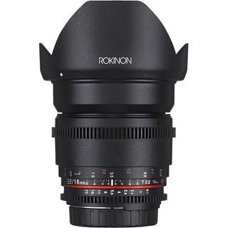 Rokinon 16 Mm T2.2 Cine Lente Ds Para Sony E Nex-ds16m