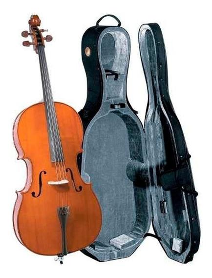 Cello Cremona Sc-175 3/4 Estudio Superior Pino Y Maple