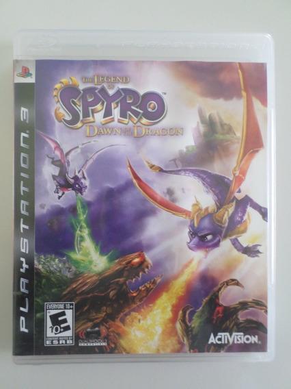 Spyro Dawn Of The Dragon Ps3 Mídia Física Frete Grátis