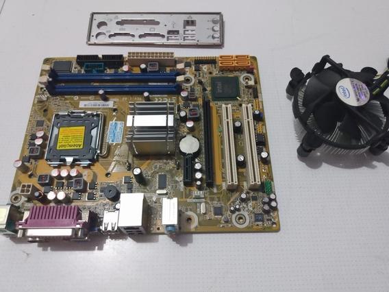 Placa Mãe Ipm41 775 + Dual Core +2 Gb Ddr3