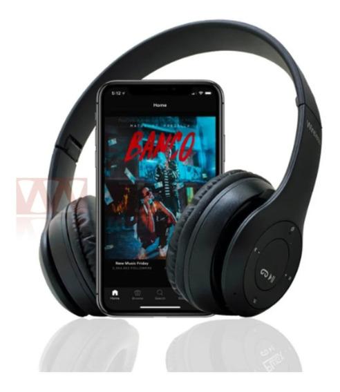 Fone Ouvido Bluetooth Sem Fio Celular P2 Mp3 Pc Ps4 Celular
