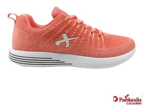 Zapatillas Jaguar Dama Crossfit Running Coral N°35-37