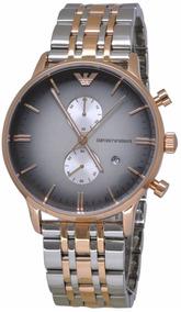 Relógio Emporio Armani Classic Rosê Masculino Ar1721