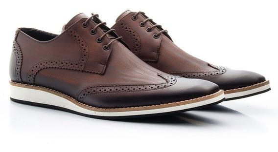 Sapato Oxford Masculino Casual Estonado Várias Cores 516