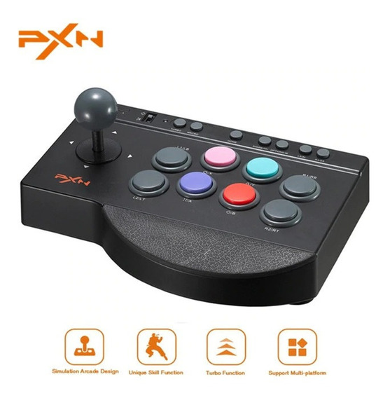 Control Arcade Pxn - Tablero Retro - Para Xbox One, Ps3, Ps4, Nintendo Switch, Windows, Android
