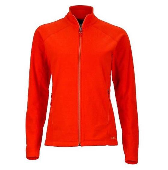 Chaqueta Polar Marmot Rocklin Full Zip Jacket Naranja Dama