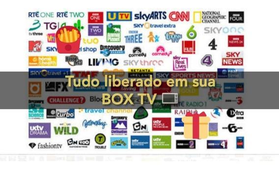 Todos Canais Liberados Em Seu Tv Box,pc,note,tablet,celular