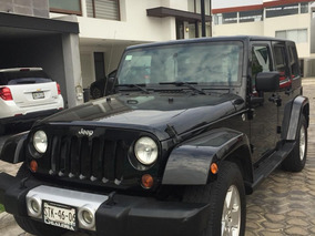 Jeep Wrangler Sahara 4x4 At Color Negro