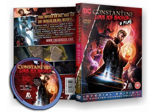 Constantine - Cidade Dos Demônios - City Of Demons - Dvd