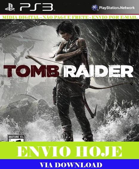 Tomb Raider Digital Edition Ps3 Psn Digital Português