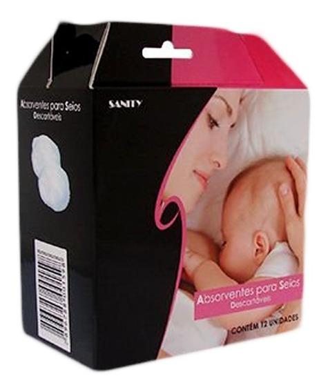 Absorvente Para Seios Amamentação Sanity C/ 12 ( 1 Caixa )