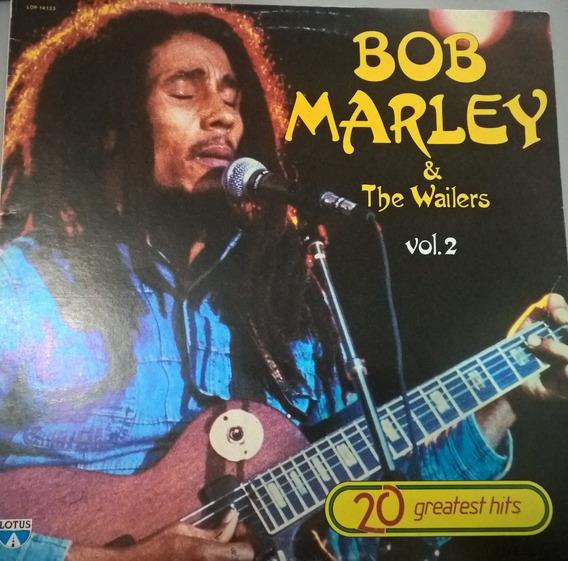 Bob Marley & The Wailers- Vol. 2 Lp Importado Italia Reggae