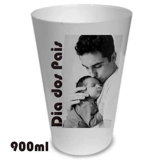 Kit 20 Copões 900ml Plástico Personalizado Dia Dos Pais