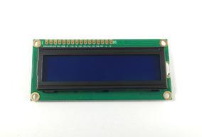 Kit 5x Display Lcd 16x02 1602 Backlight Azul Atmel Arduino