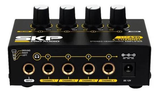 Amplificador De 4 Canais Para Fone De Ouvido - Ensaios