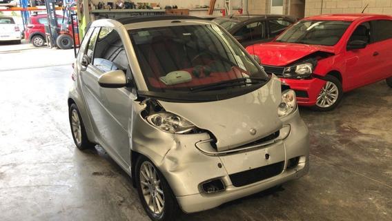 Mb Smart Passion Cabrio 2011 Chocado Kk
