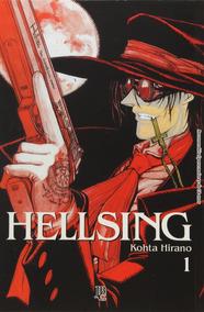 Coleção Hellsing Volume 1 A 10 (português) Lacrado Completo