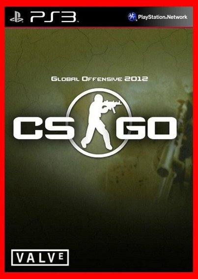 Counter Strike Global Offensive - Cs Go Jogos Ps3 Codigo Psn