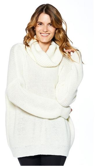 Poleron Sweater Calpary Mirta Armesto Mujer Lana Mezcla