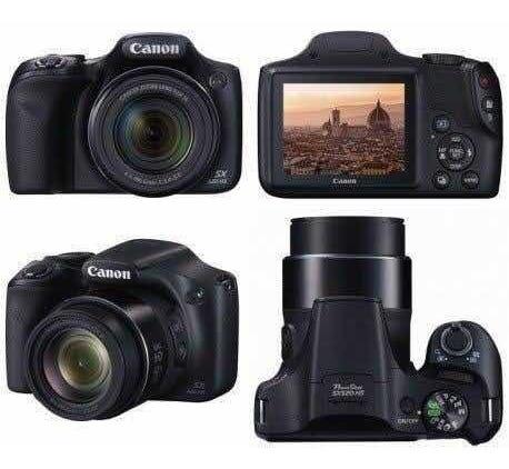 Câmera Cânon Powershot Semiprofissional
