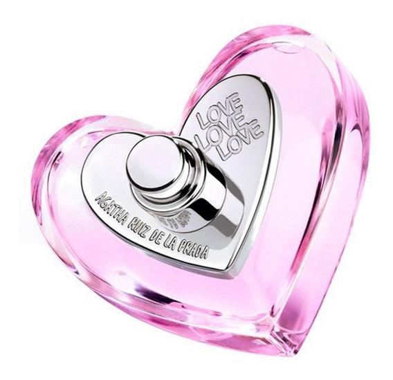 Love Love Love Agatha Ruiz De La Prada Edt Feminino 80 Ml
