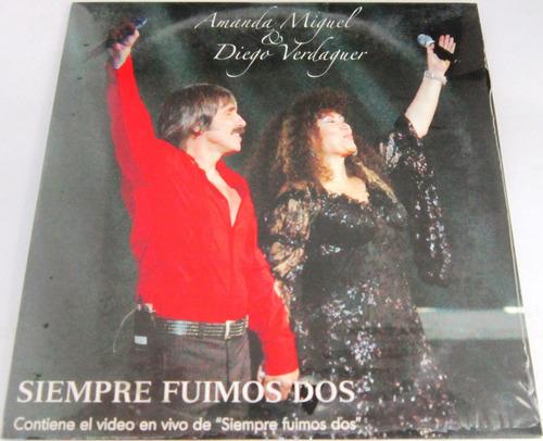 Amanda Miguel & Diego - Siempre Fuimos Dos Single Nuevo