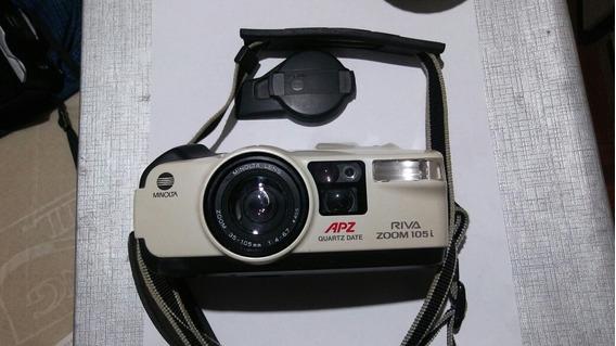 Câmara Fotográfica Minolta Apz.zoo105..lente Zoo35-105mm1:4-