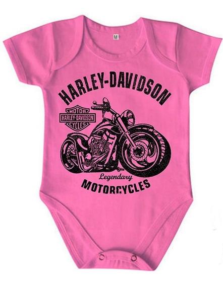 Roupa Infantil Body Algodão Coleção Motorcycles Harley 350