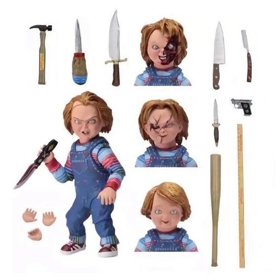Chucky Neca Ultimate Brinquedo Assassino Boneco Chuky Chuck