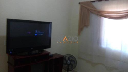 Imagem 1 de 5 de Casa Com 1 Dormitório À Venda, 45 M² Por R$ 190.800 - Parque Mãe Preta - Rio Claro/sp - Ca0253