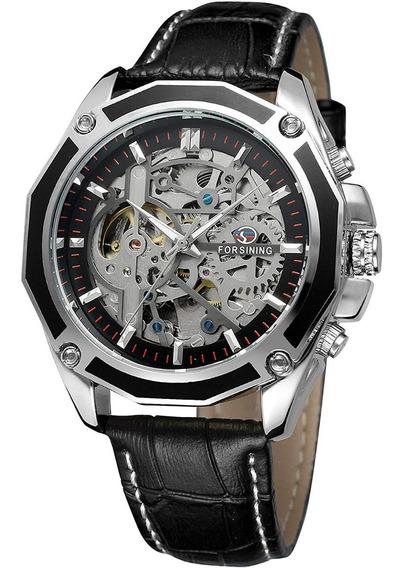 Reloj Caballero Forsining Automático Esqueleto Casual Sport