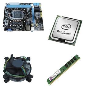 Placa Brpc 1155 + Intel Pentium Dual Core G2030 3.0ghz + 4gb