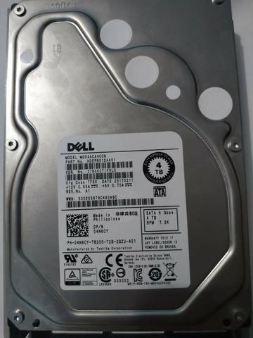 Hd Dell 4tb Sata 7.2k Model Mg04aca400n Part Hdepro1daa51