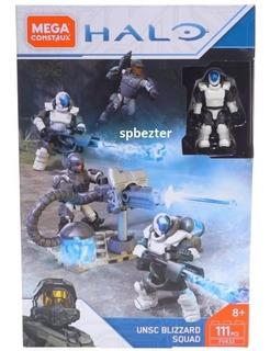 Halo Unsc Blizzard Squad 111 Pzas Mega Construx