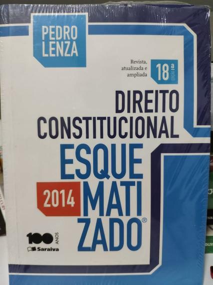Livro Direito Constitucional Esquematizado 18ª Edição. 2014.