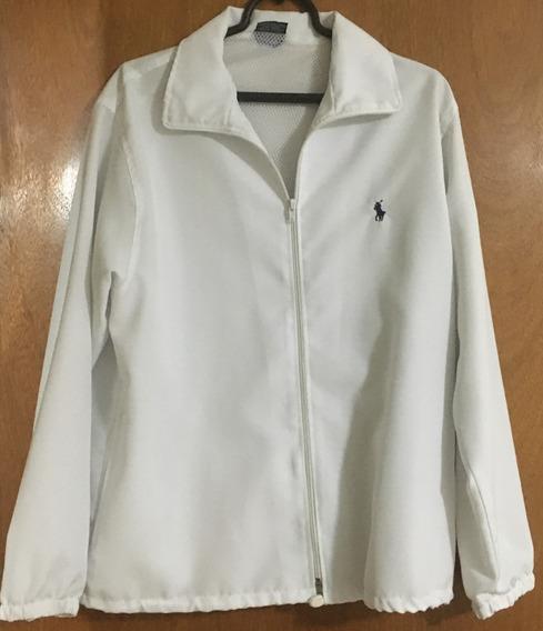 Jaqueta Polo By Ralph Lauren Branca S Poliester Usada