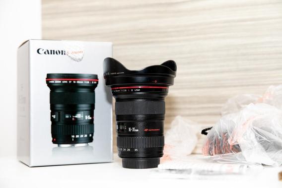 Lente Obj Canon Ef 16-35mm F/2.8l Ii Usm