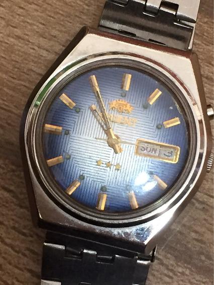 Relógio Original Automático Orient Masculino Funcionando