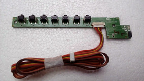 Teclado E Sensor Ir (c/ Cabo) Tv Philco 40r86dsgw